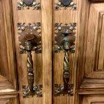9ft Antique Solid Wood Doors